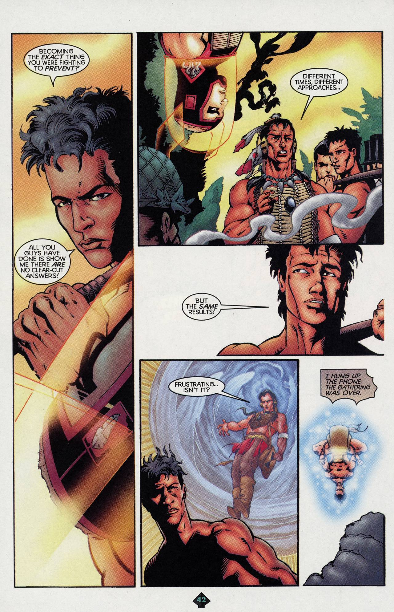 Read online Turok: Tales of the Lost Land comic -  Issue # Full - 39