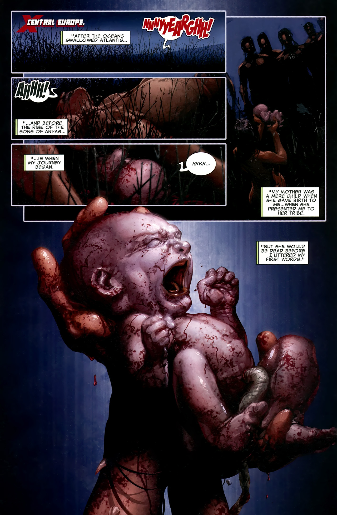 Read online X Necrosha comic -  Issue # Full - 5