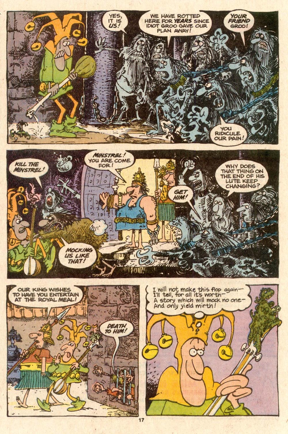 Read online Sergio Aragonés Groo the Wanderer comic -  Issue #56 - 16