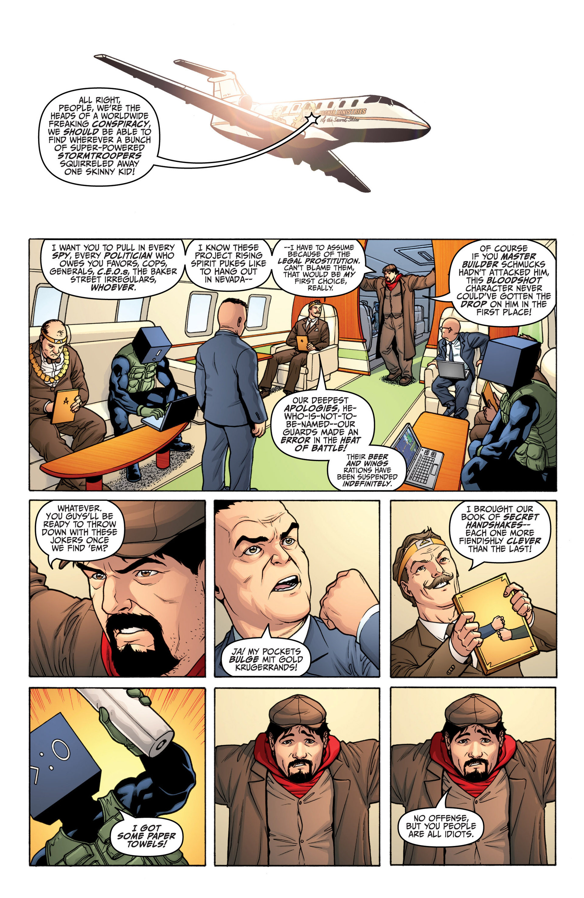 Read online Archer and Armstrong comic -  Issue #19 - 3