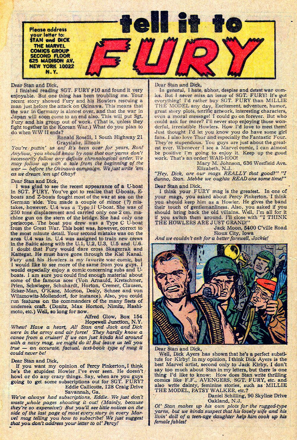 Read online Sgt. Fury comic -  Issue #14 - 32