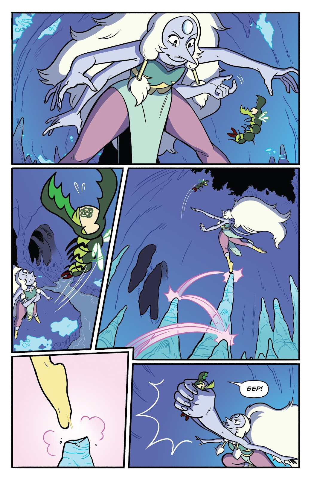 Read online Steven Universe: Fusion Frenzy comic -  Issue # Full - 31