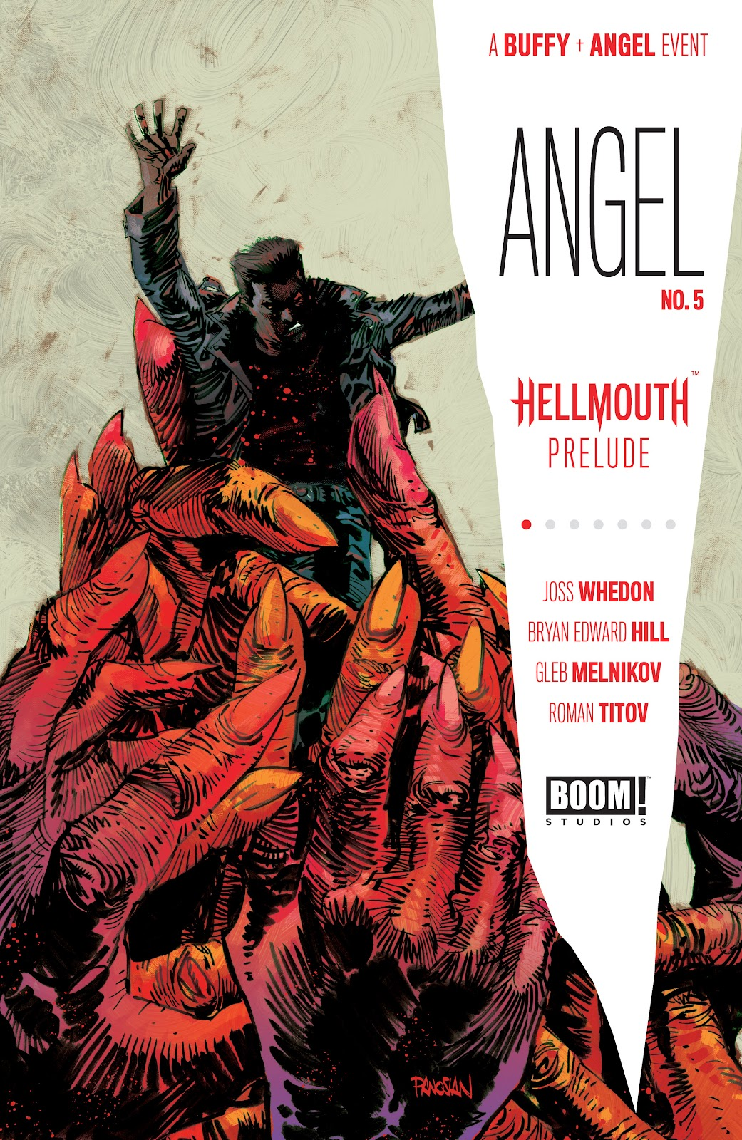 Read online Angel (2019) comic -  Issue #5 - 1