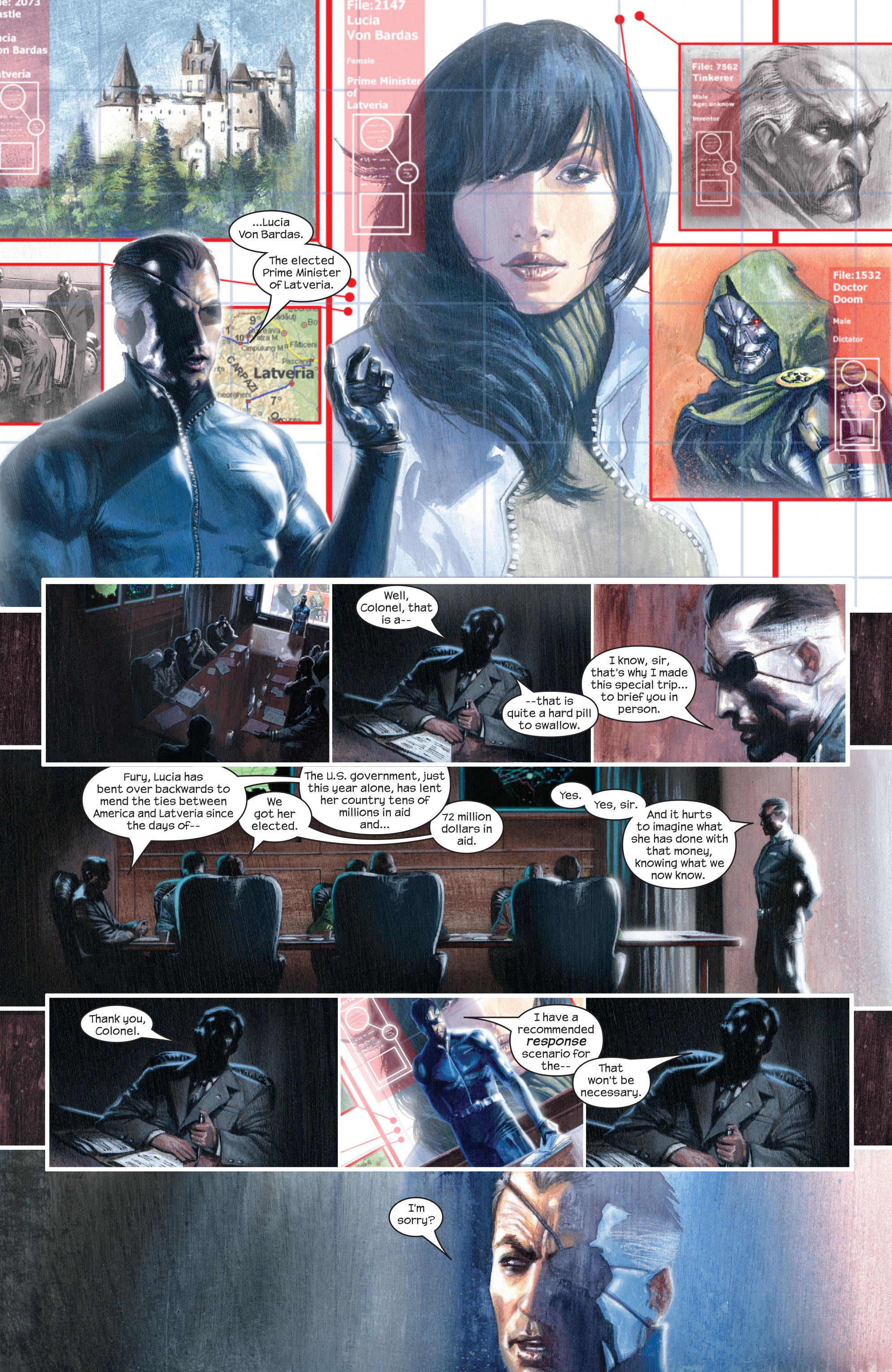 Read online Secret War comic -  Issue # Full - 24
