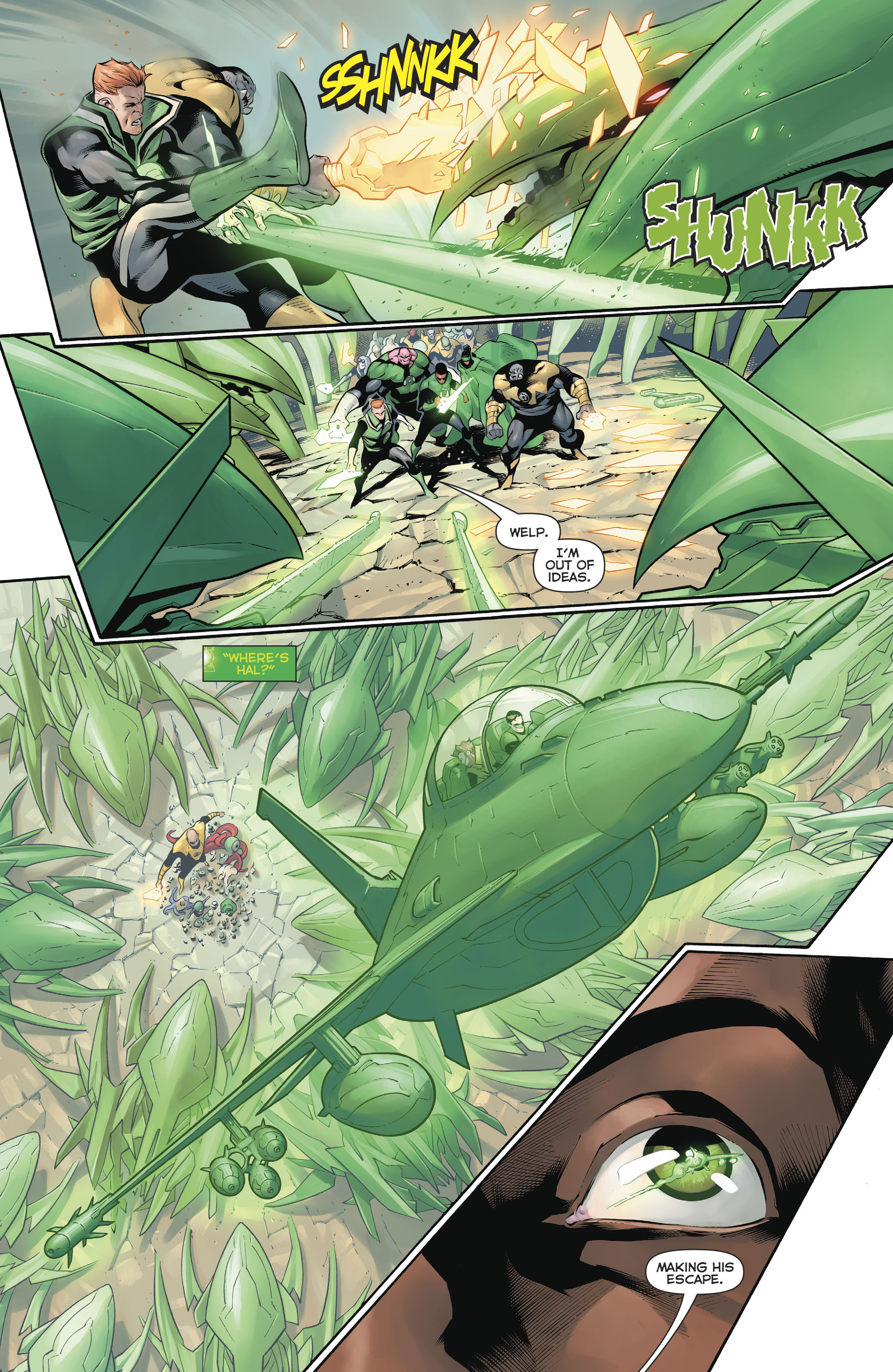 Read online Hal Jordan And The Green Lantern Corps comic -  Issue #20 - 19