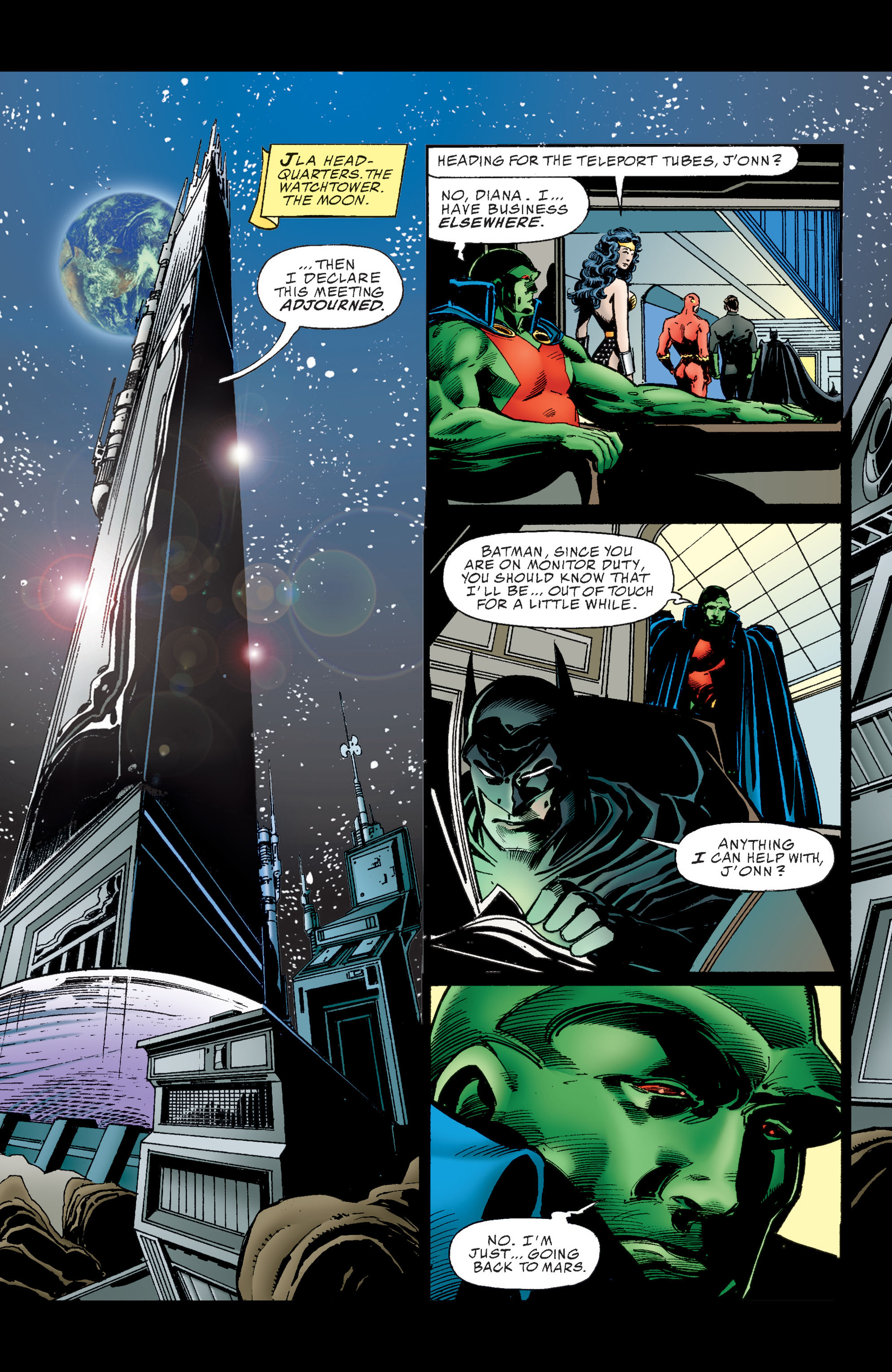 Read online Martian Manhunter: Son of Mars comic -  Issue # TPB - 7