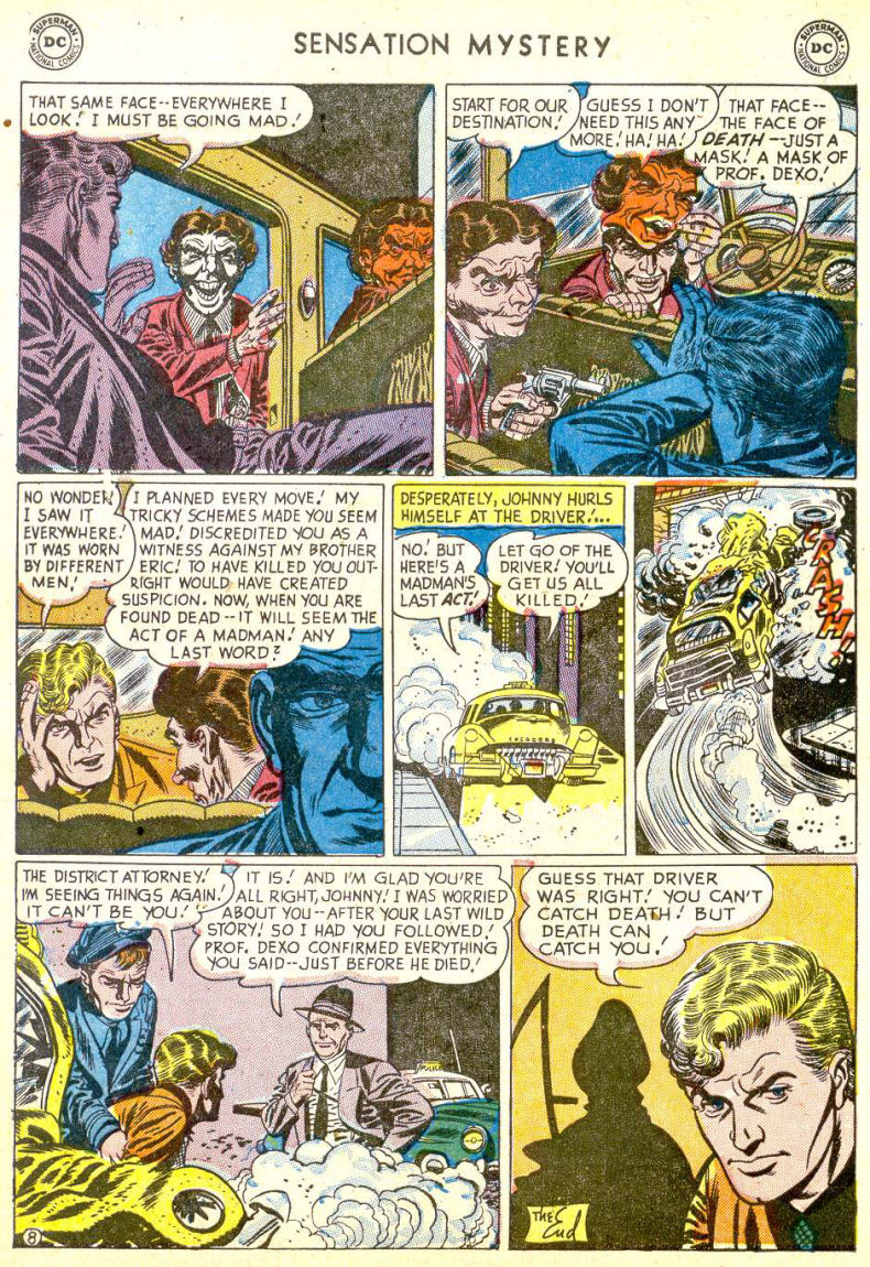 Read online Sensation (Mystery) Comics comic -  Issue #113 - 10