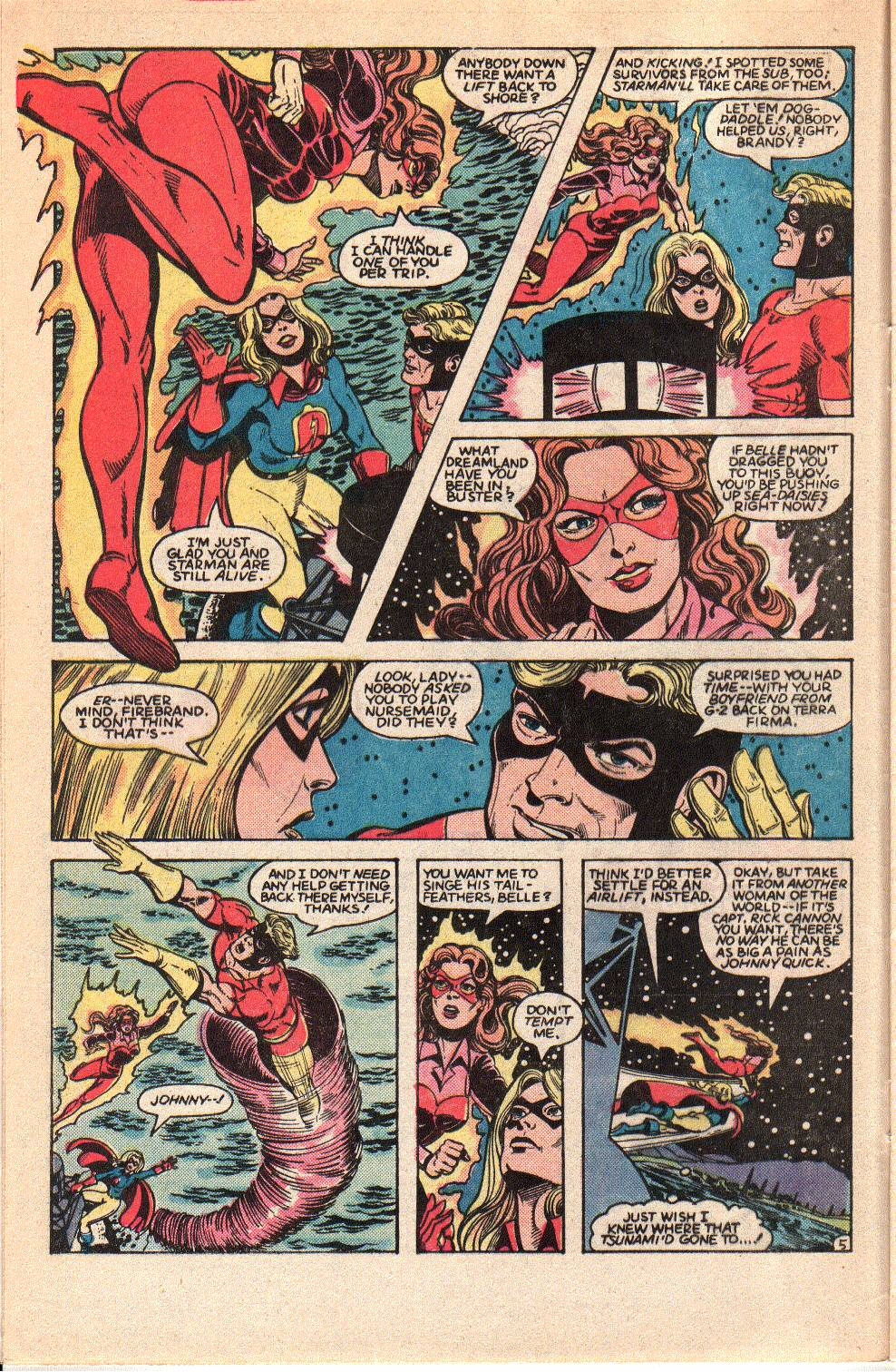 Read online All-Star Squadron comic -  Issue #35 - 8