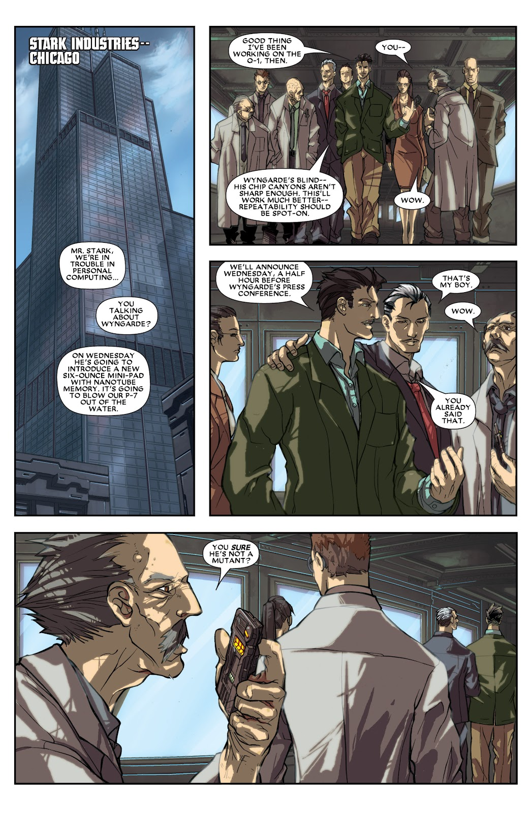 Iron Man: House of M Issue #1 #1 - English 8