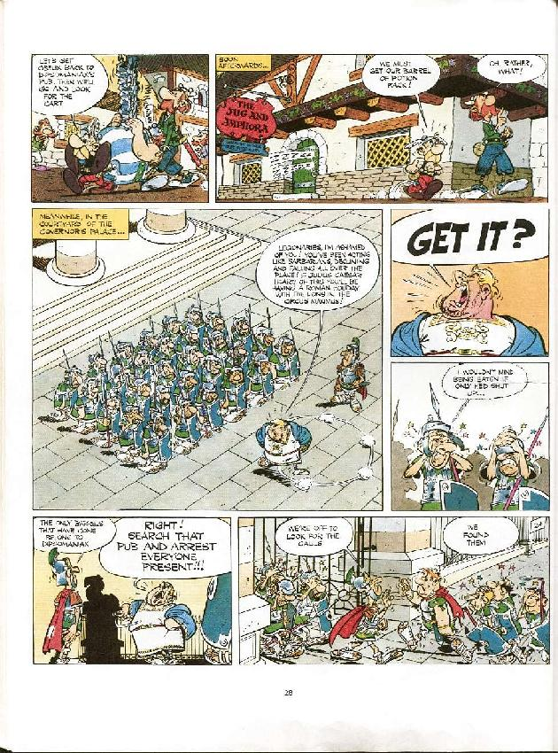 Read online Asterix comic -  Issue #8 - 25
