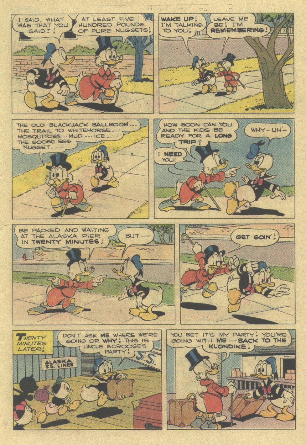 Read online Uncle Scrooge (1953) comic -  Issue #142 - 7