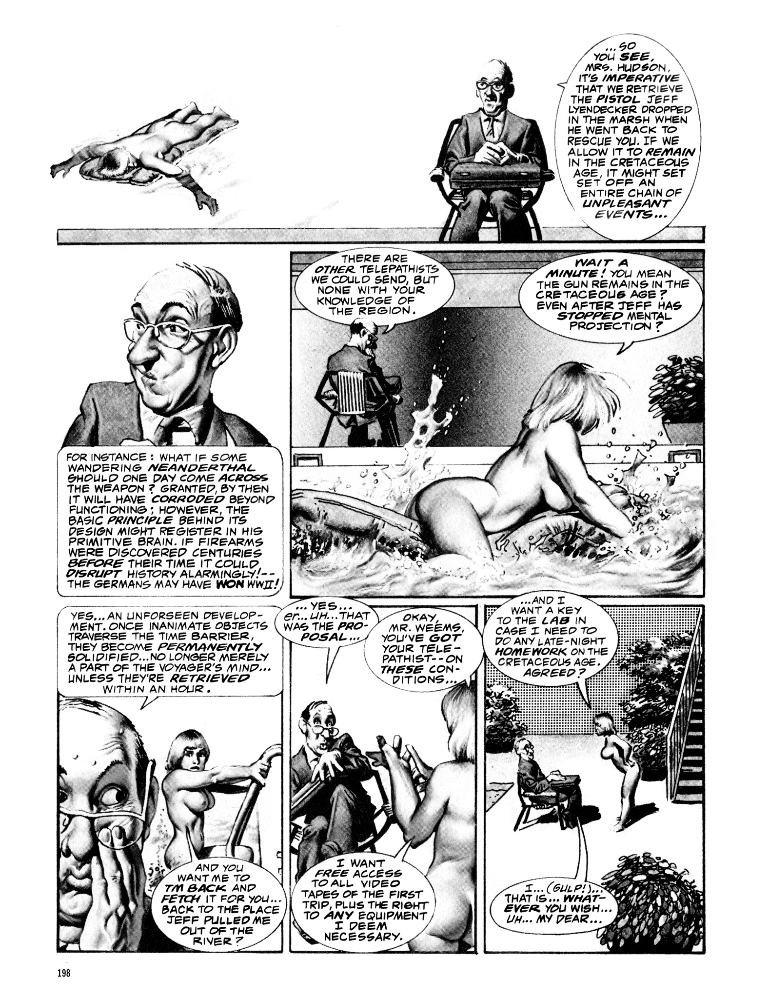 Read online Eerie Archives comic -  Issue # TPB 16 - 199