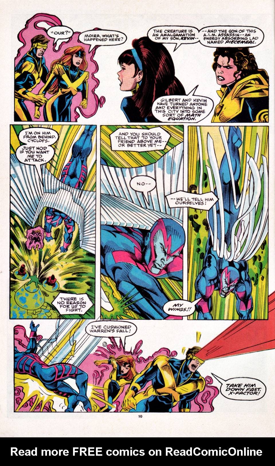 Read online X-Factor (1986) comic -  Issue # _ Annual 6 - 9