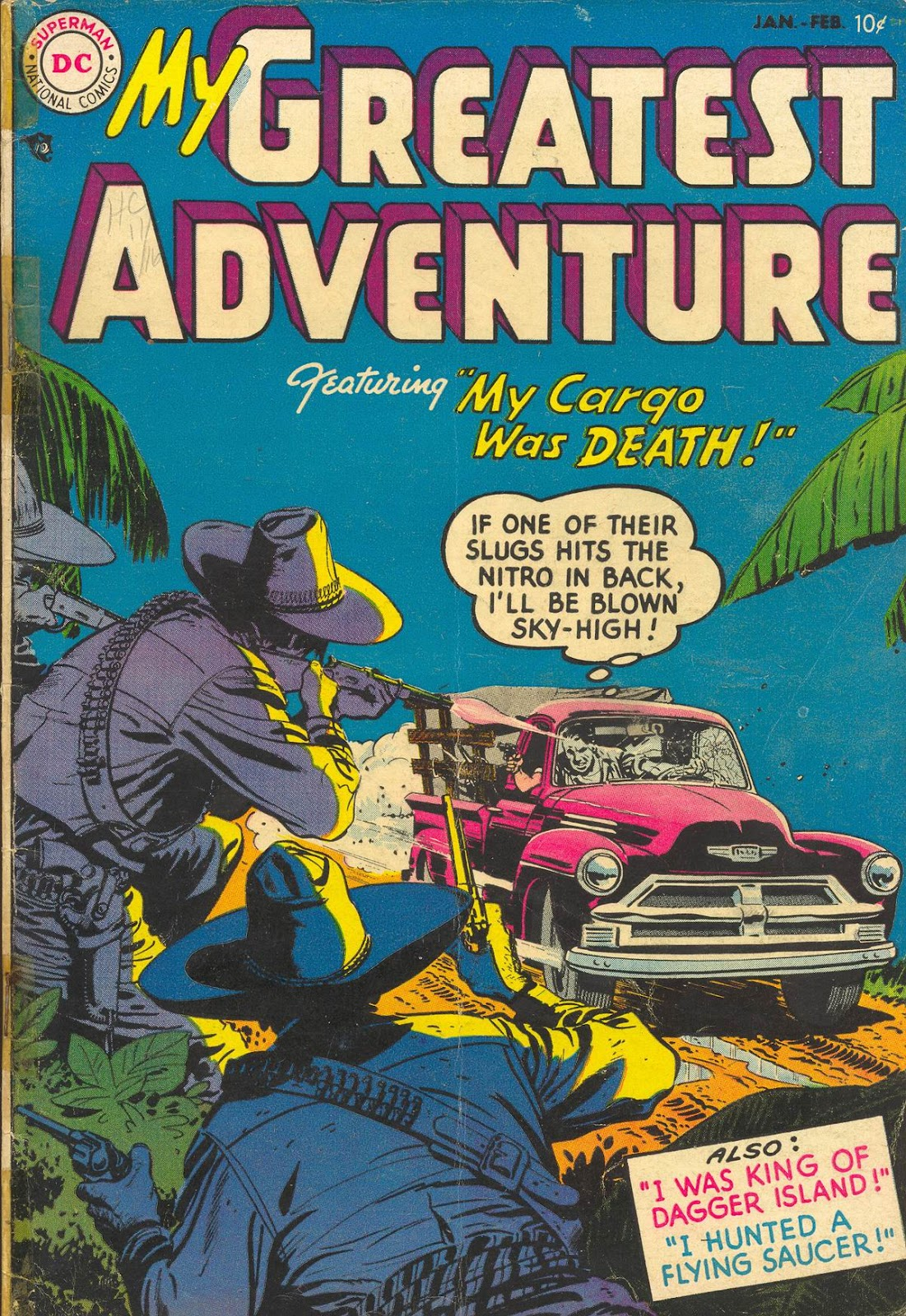 My Greatest Adventure (1955) issue 1 - Page 1