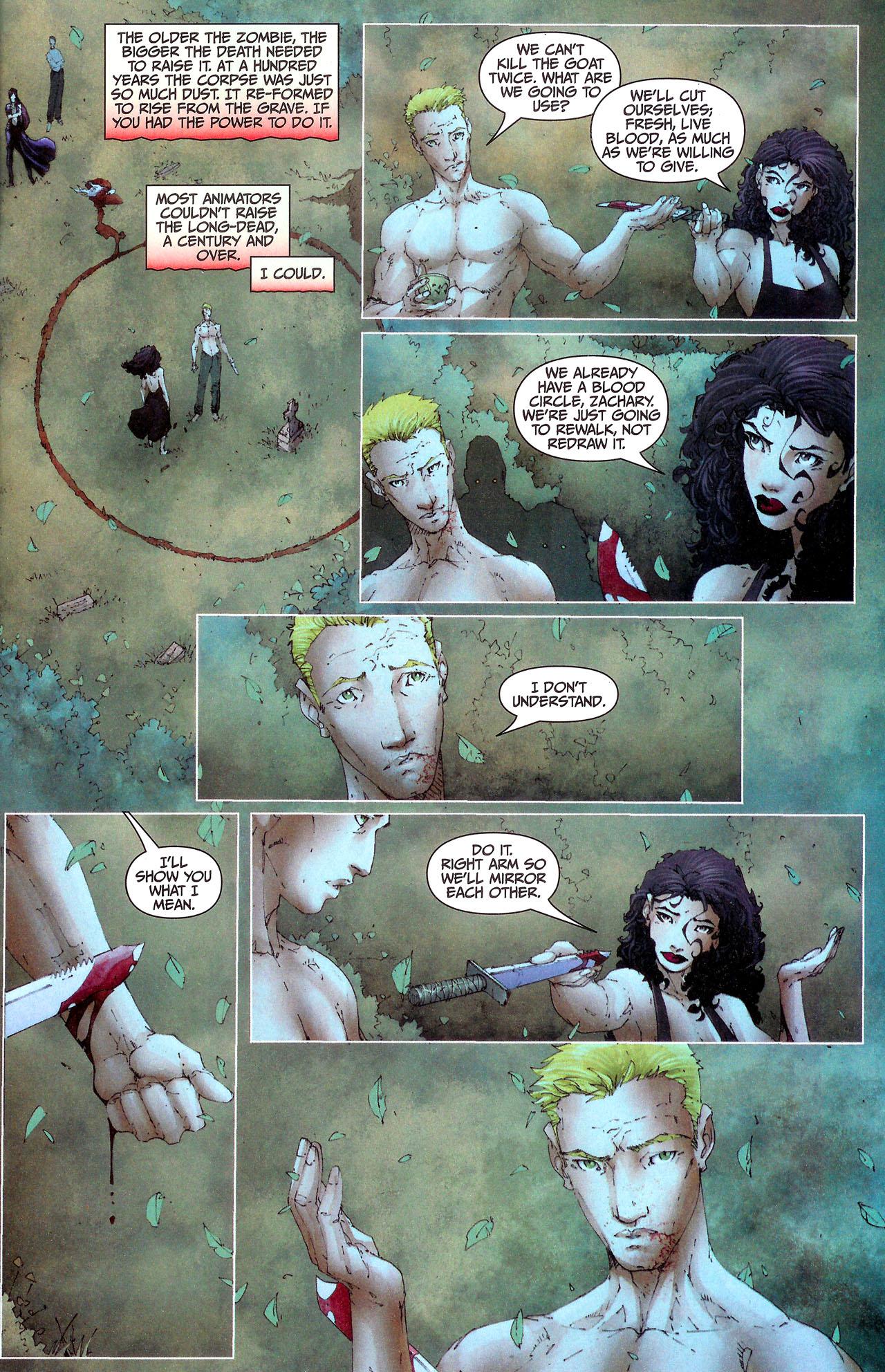 Read online Anita Blake, Vampire Hunter: Guilty Pleasures comic -  Issue #7 - 12