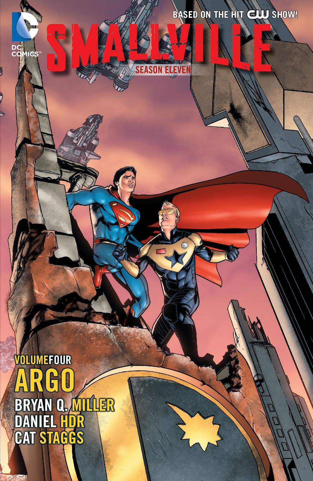 Read online Smallville Season 11 [II] comic -  Issue # TPB 4 - 1