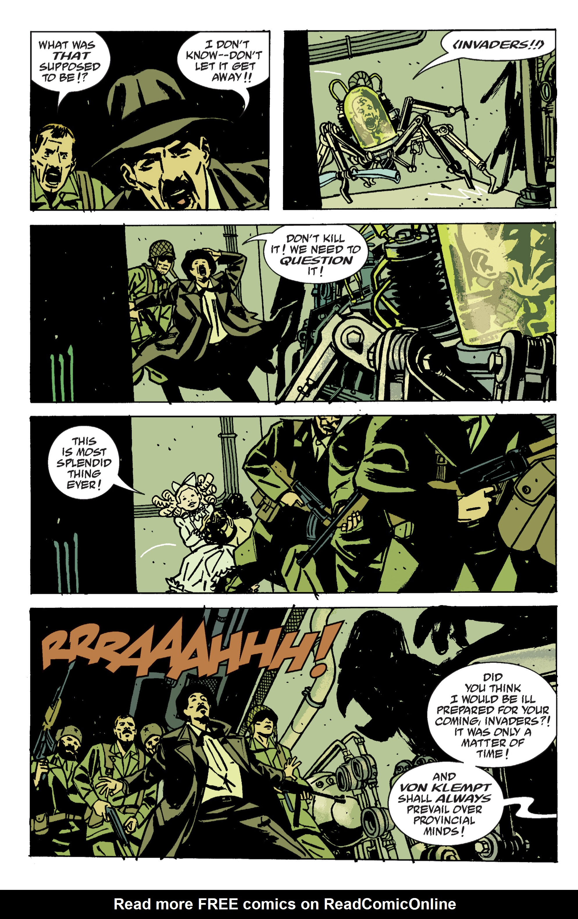 Read online B.P.R.D. (2003) comic -  Issue # TPB 9 - 108
