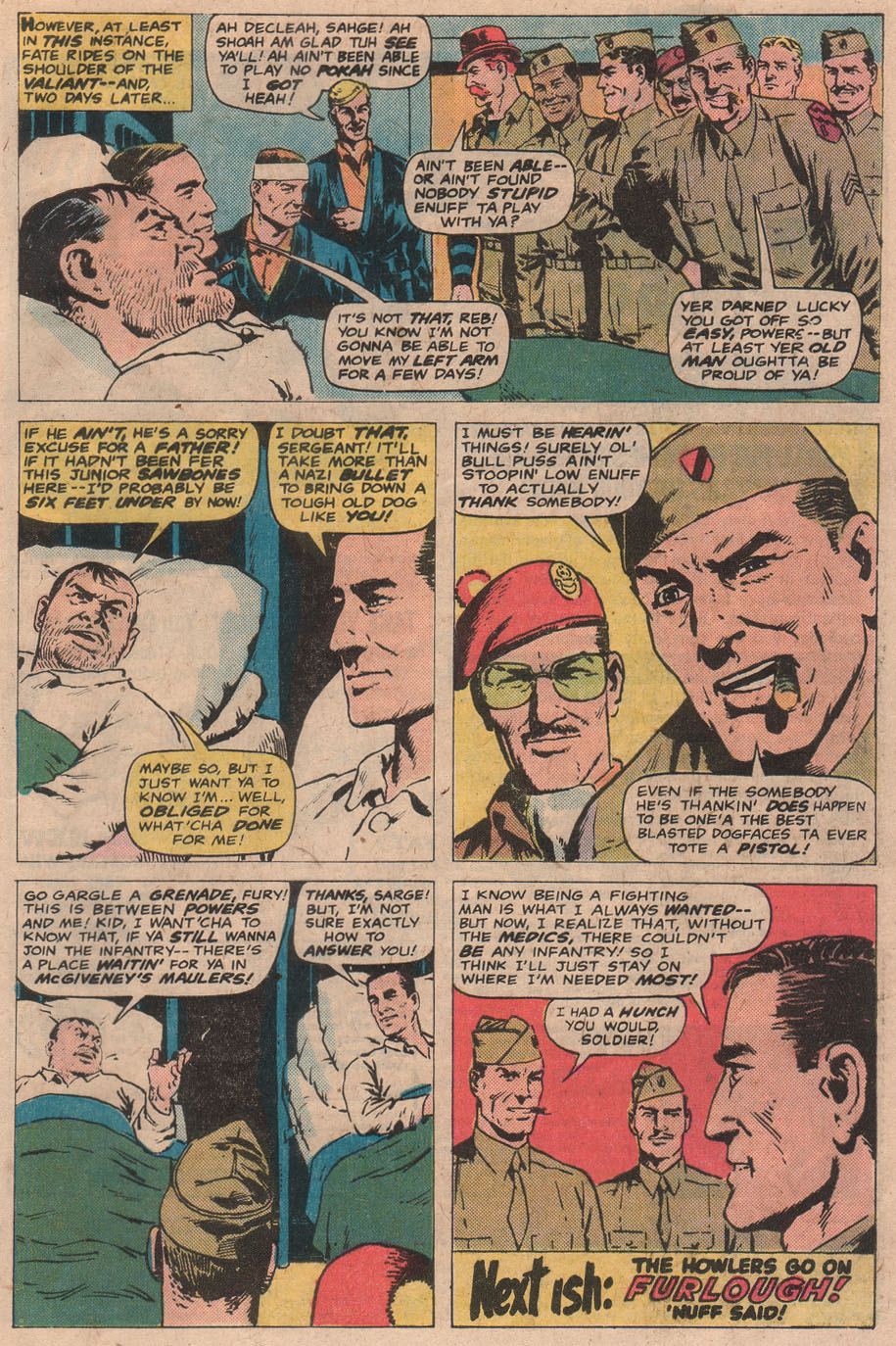 Read online Sgt. Fury comic -  Issue #141 - 33