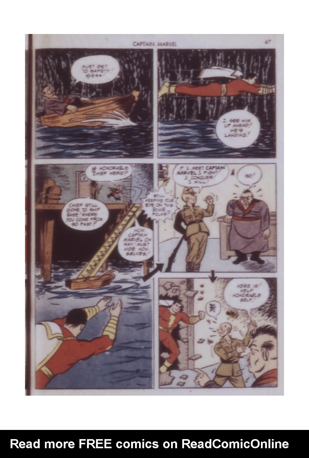 Captain Marvel Adventures issue 14 - Page 47