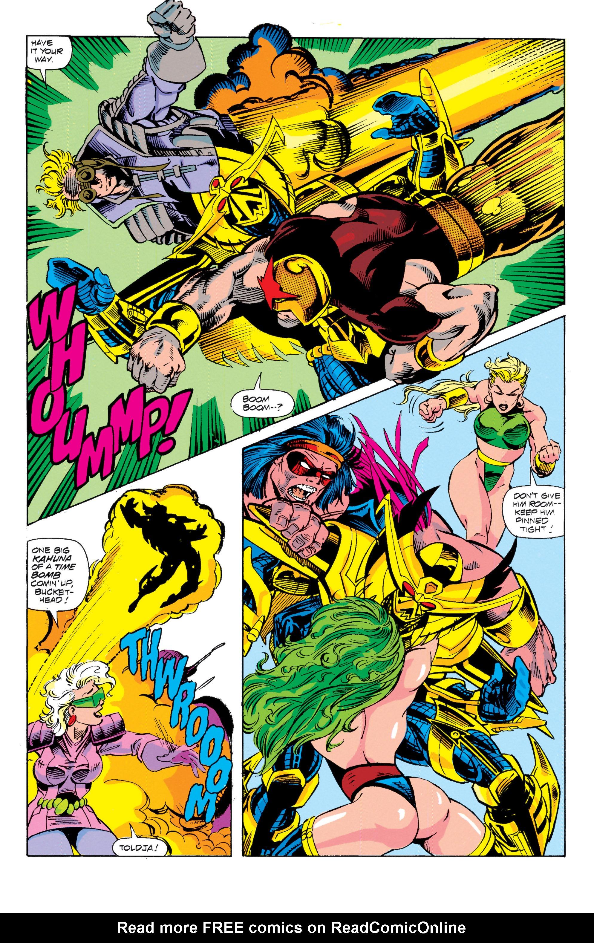 Read online Uncanny X-Men (1963) comic -  Issue # _Annual 15 - 21