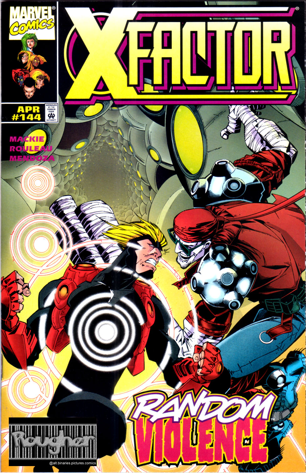 Read online X-Factor (1986) comic -  Issue #144 - 1
