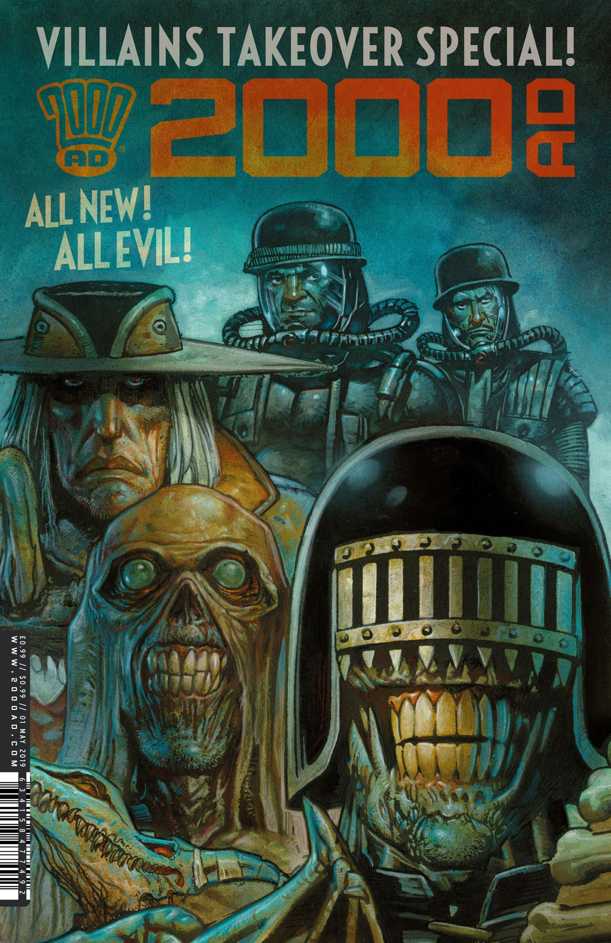 2000 AD Villains Special Full Page 1