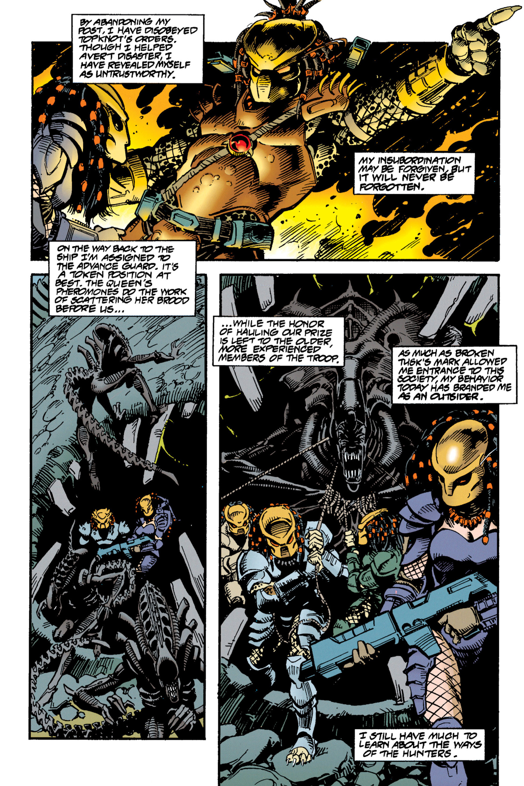 Read online Aliens vs. Predator Omnibus comic -  Issue # _TPB 1 Part 3 - 27