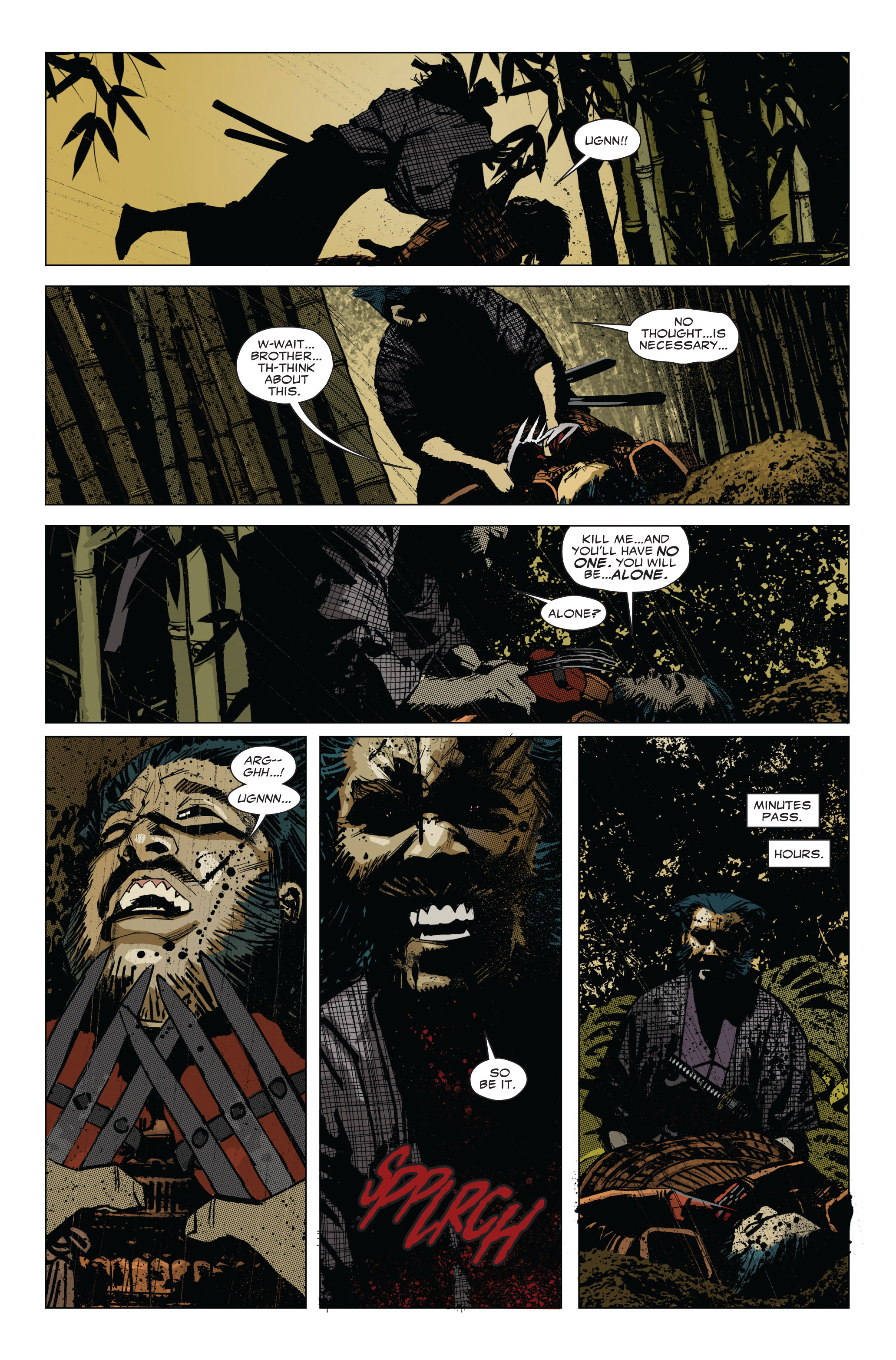 Read online 5 Ronin (2011) comic -  Issue #1 - 22