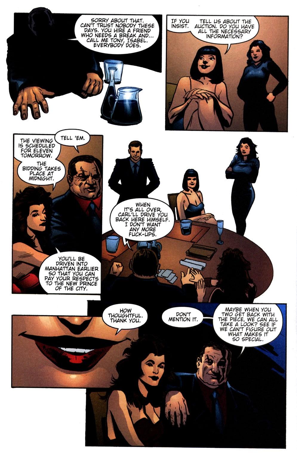 Read online Vampire the Masquerade comic -  Issue # Giovanni - 24