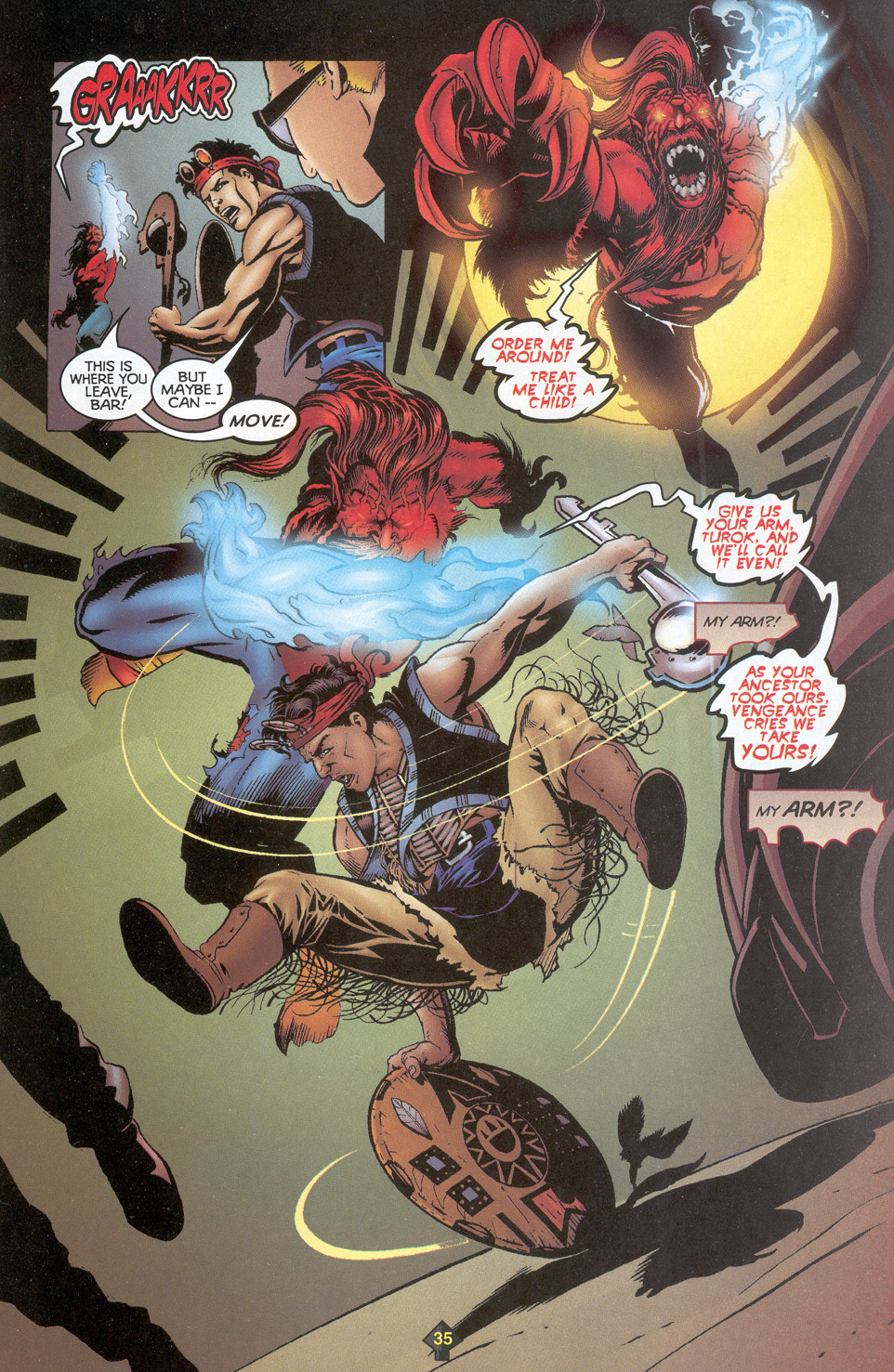 Read online Turok: Redpath comic -  Issue # Full - 33