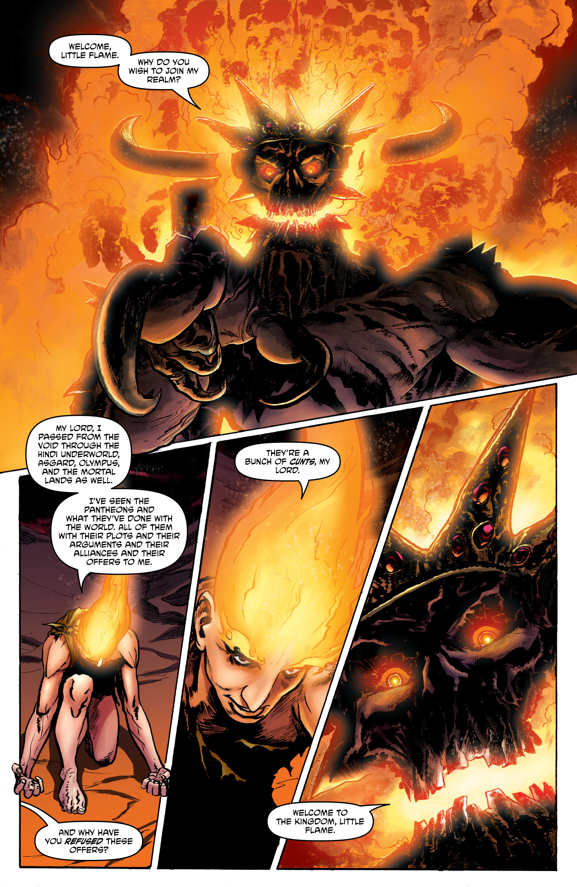 Read online God is Dead: Book of Acts comic -  Issue # Alpha - 16