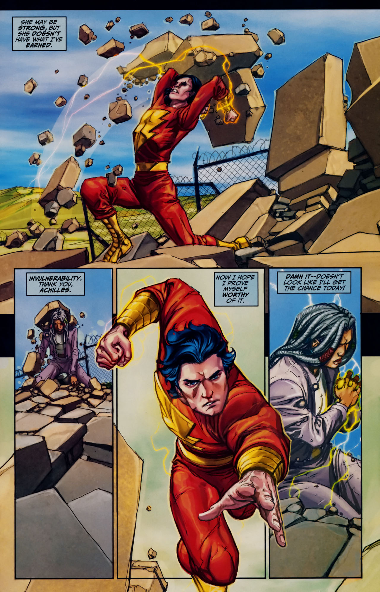 Read online Trials of Shazam comic -  Issue #7 - 20