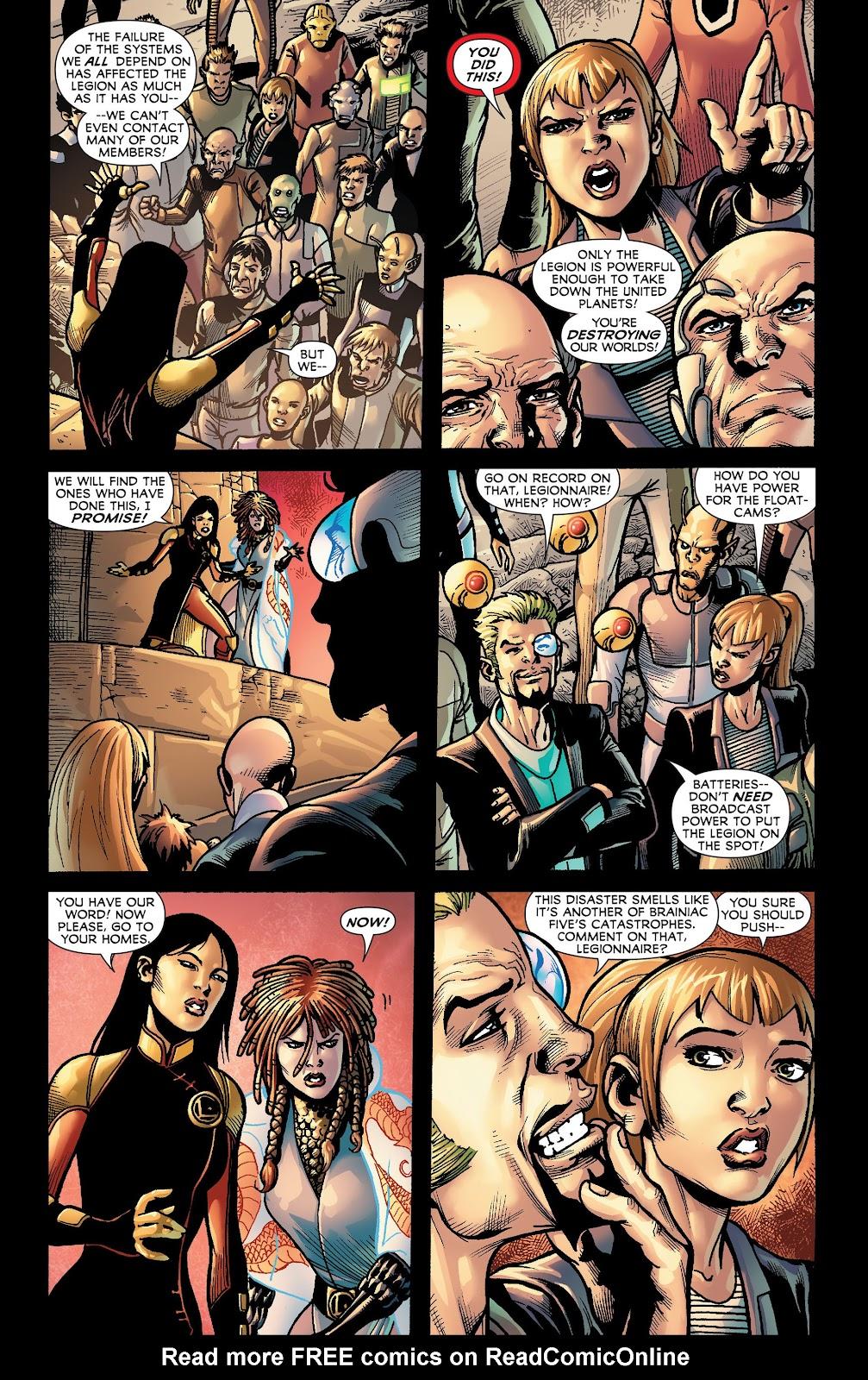 Legion of Super-Heroes (2011) Issue #18 #19 - English 4