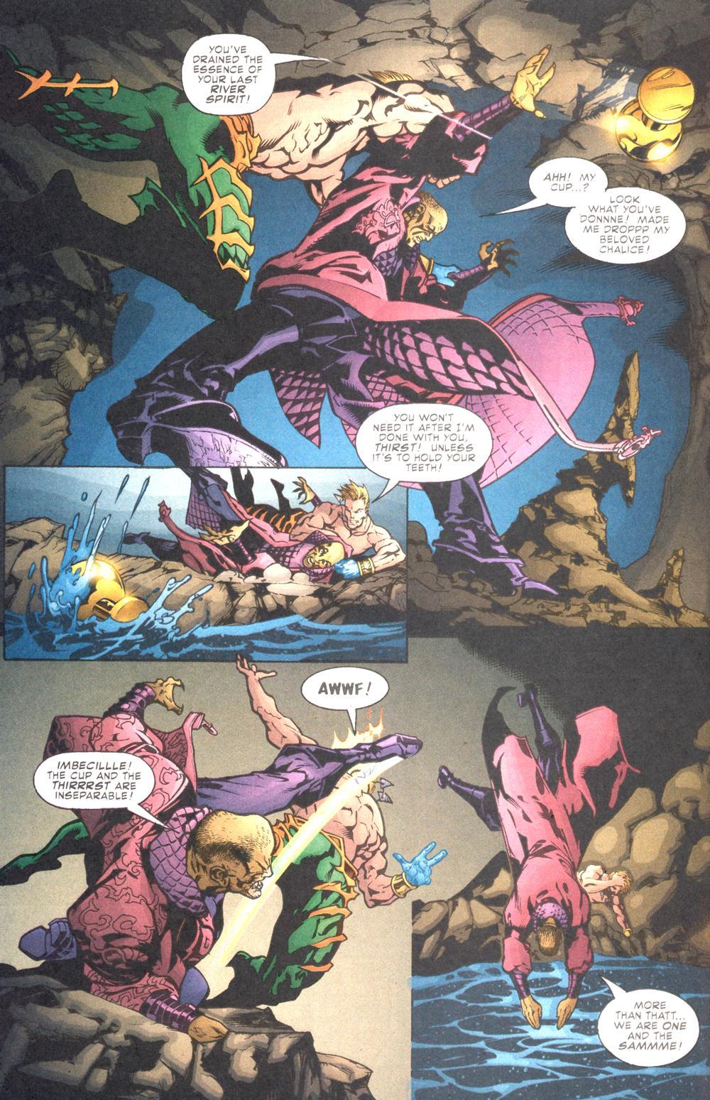 Read online Aquaman (2003) comic -  Issue #10 - 11