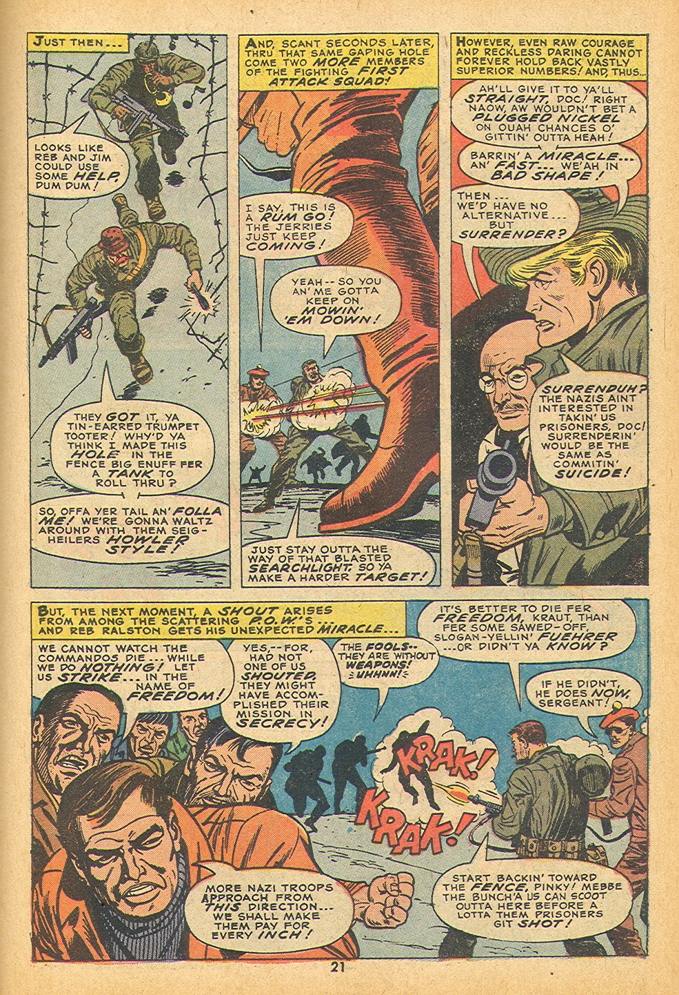 Read online Sgt. Fury comic -  Issue #109 - 23
