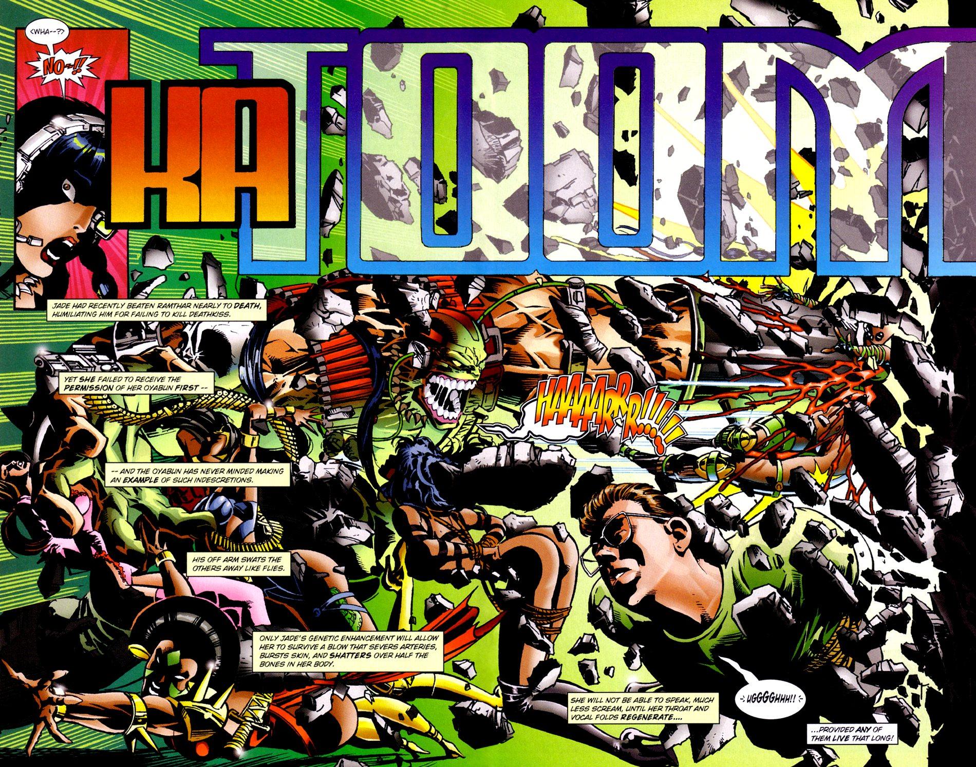 Read online Jade Warriors comic -  Issue #3 - 15