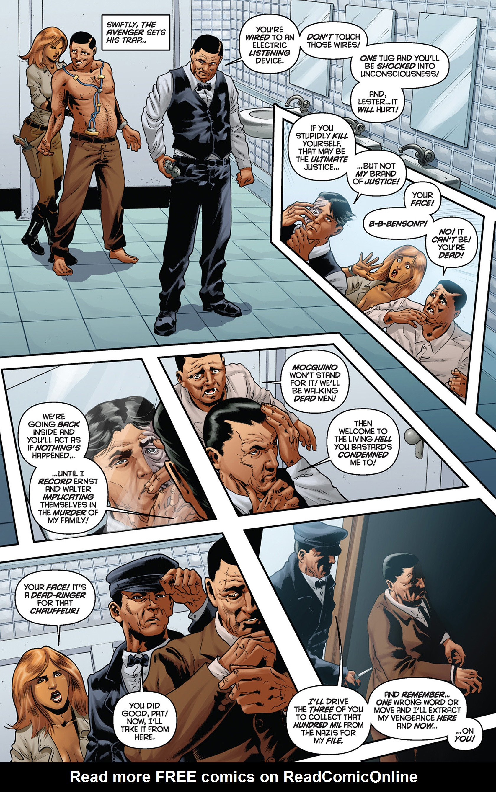 Read online Justice, Inc. comic -  Issue #5 - 16