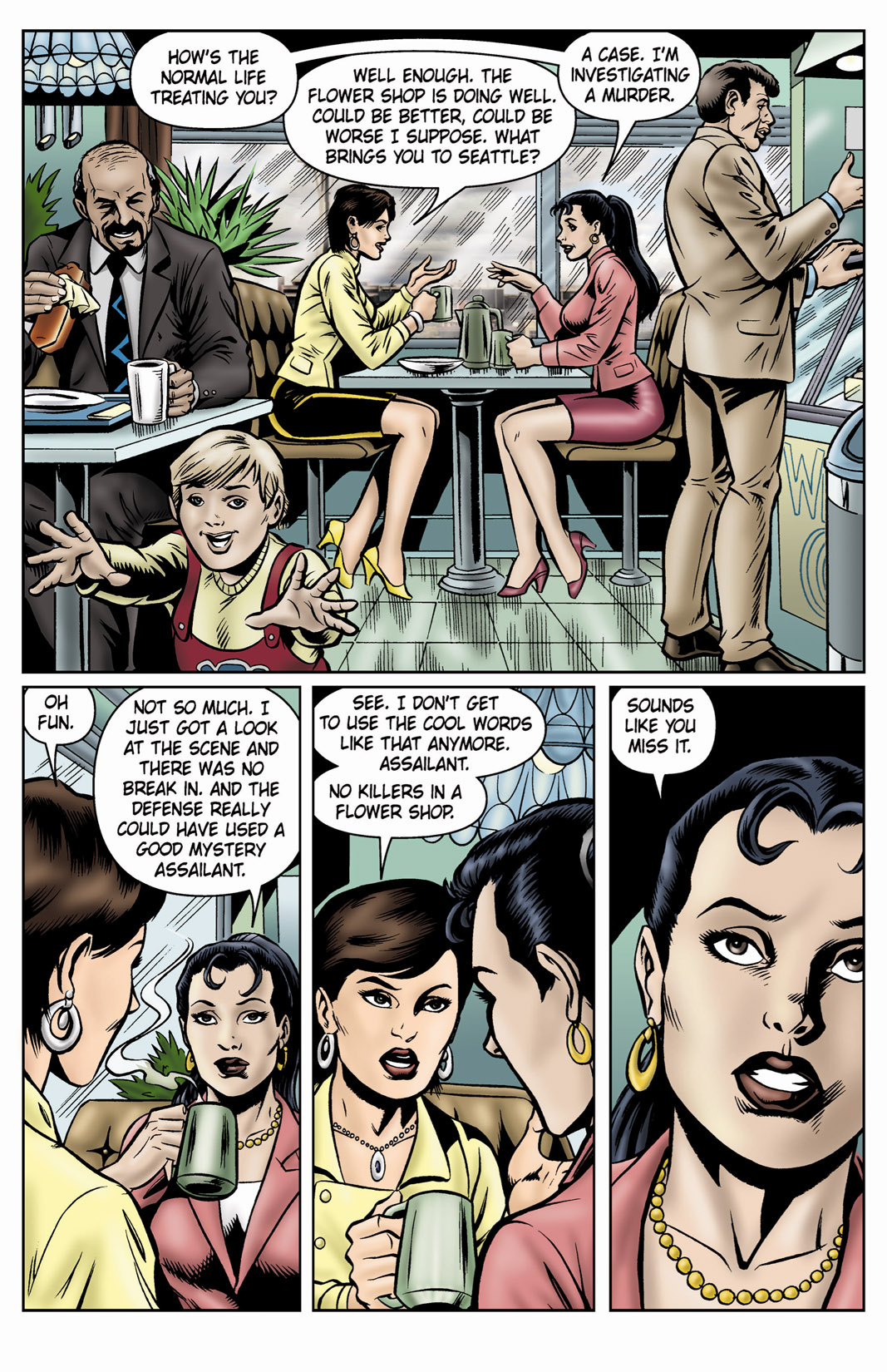 Read online SideChicks comic -  Issue #4 - 19