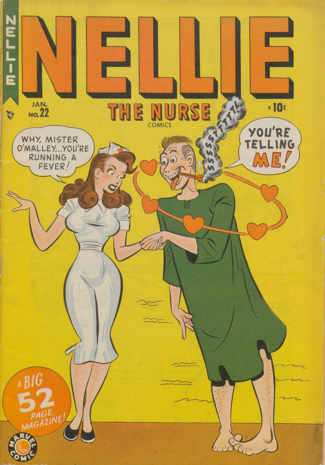 Read online Nellie The Nurse (1945) comic -  Issue #22 - 1