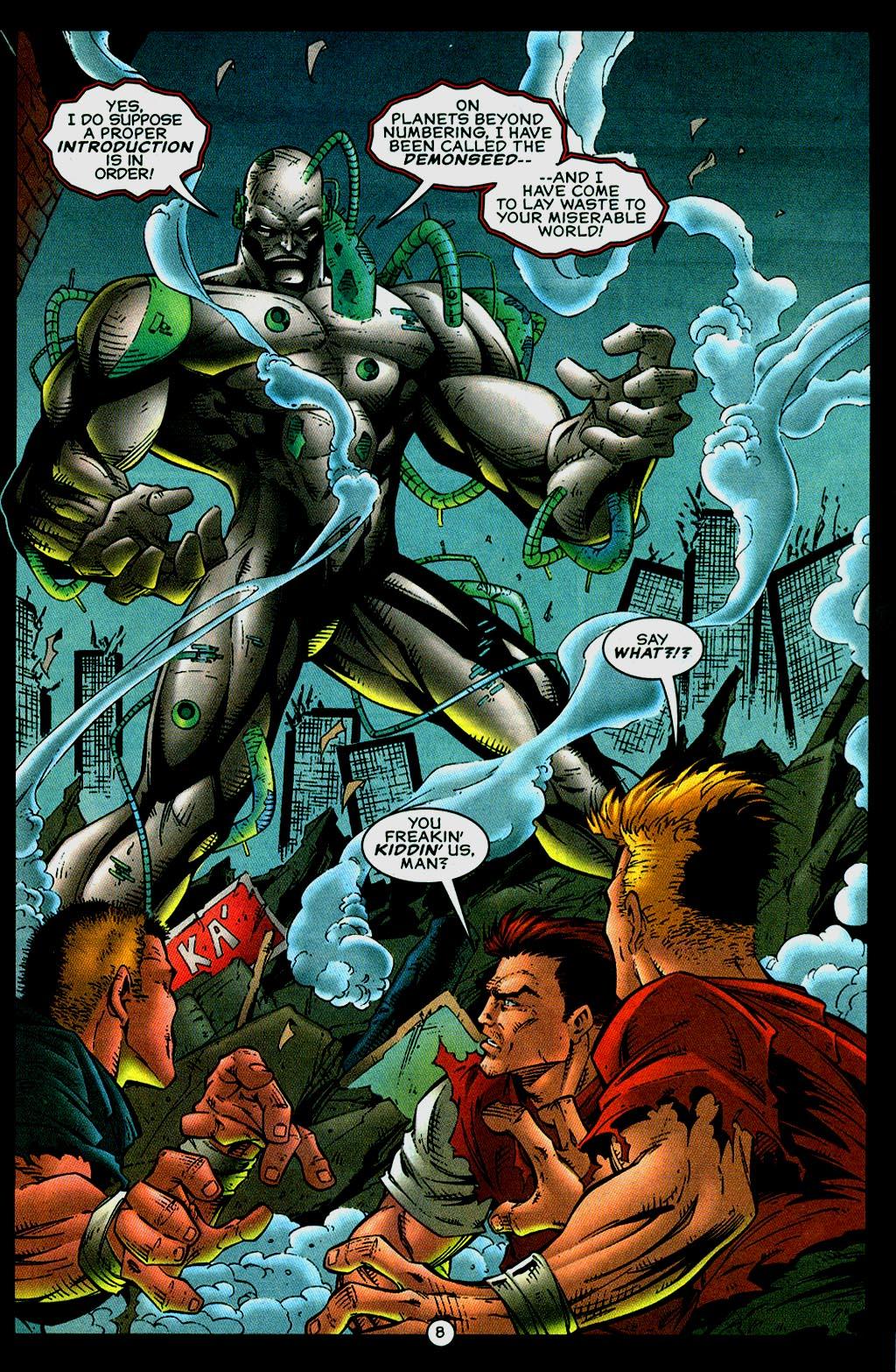 Read online UltraForce (1995) comic -  Issue #14 - 8
