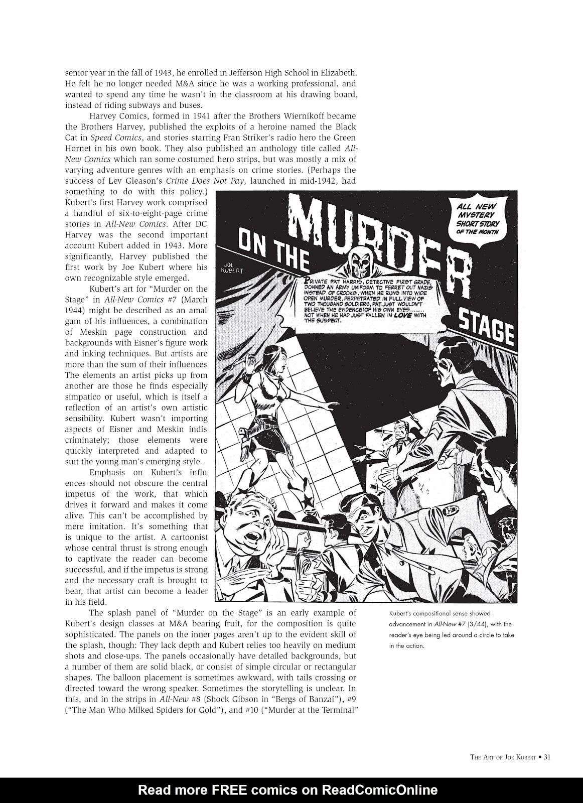 Read online The Art of Joe Kubert comic -  Issue # TPB (Part 1) - 30