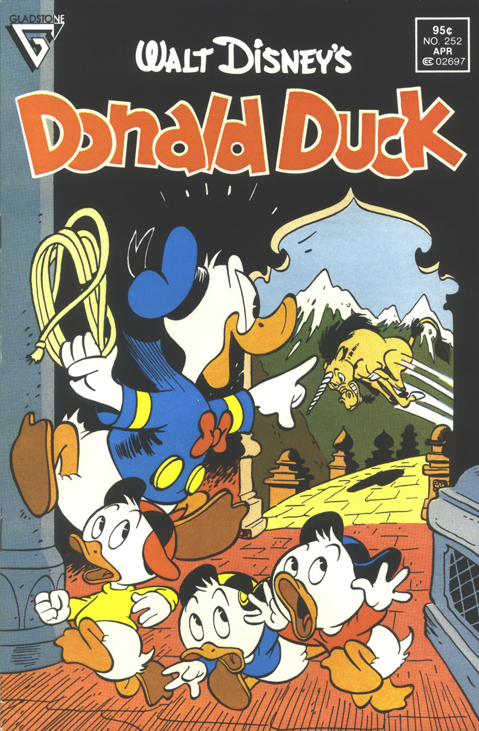 Walt Disney's Donald Duck (1952) issue 252 - Page 1