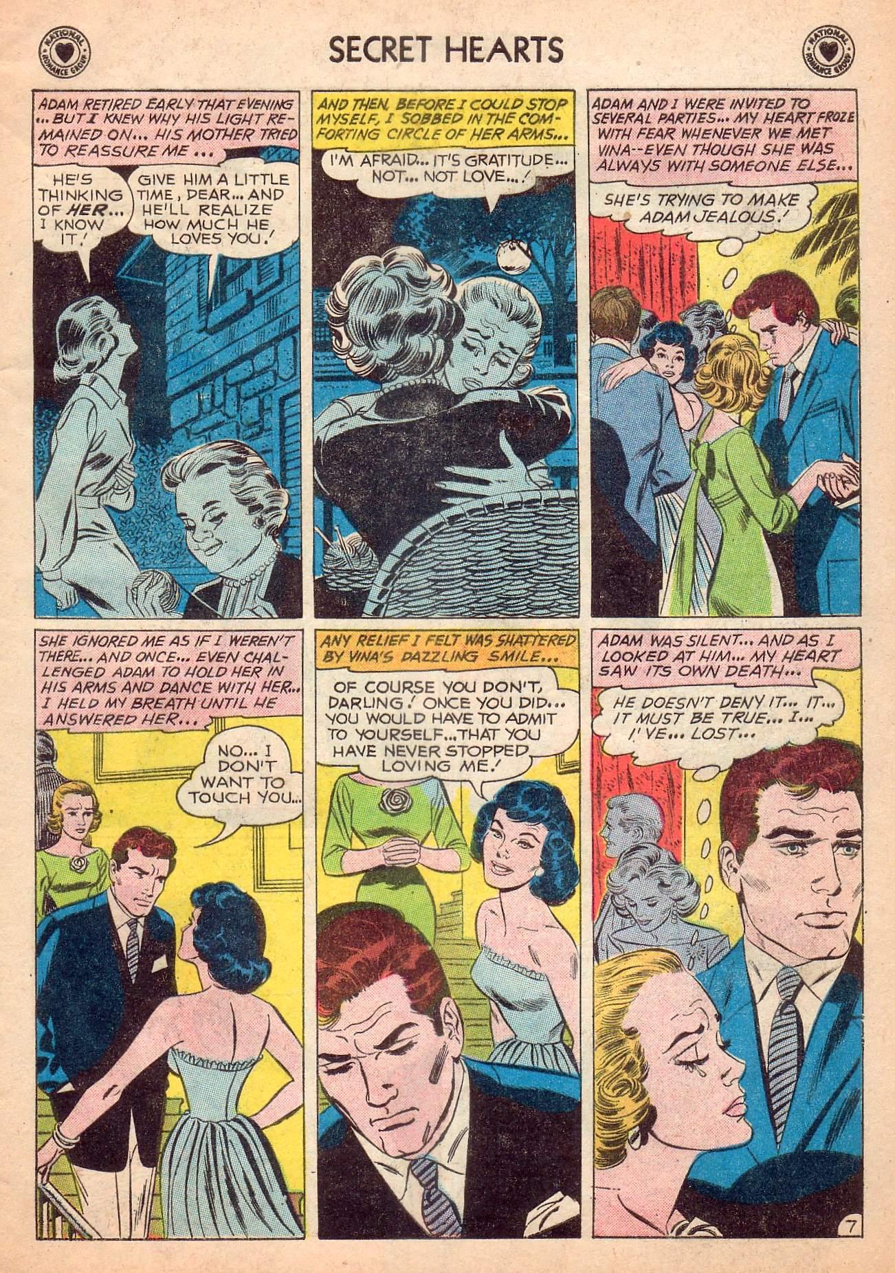 Read online Secret Hearts comic -  Issue #63 - 33