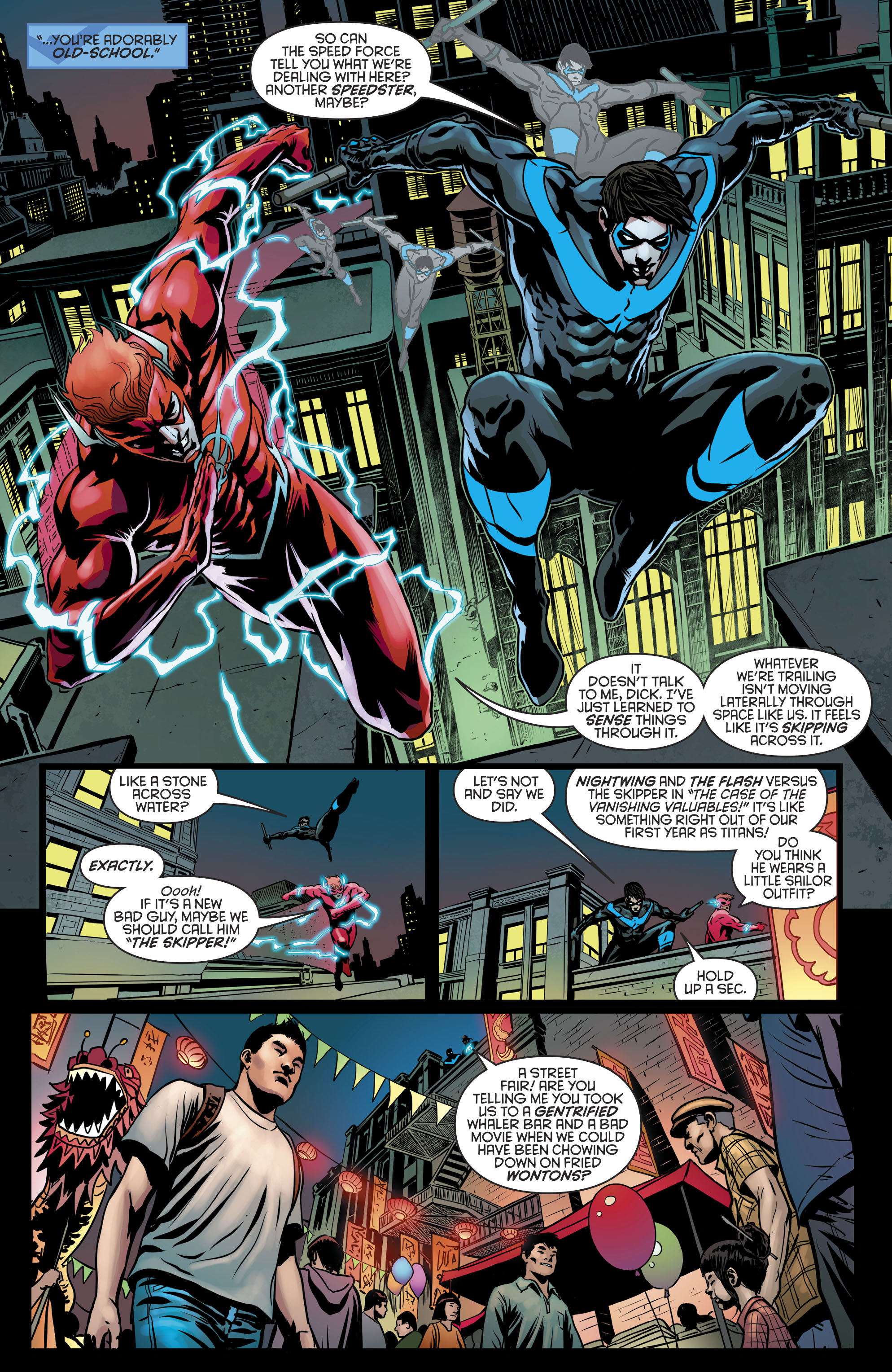 Read online Nightwing (2016) comic -  Issue #21 - 12