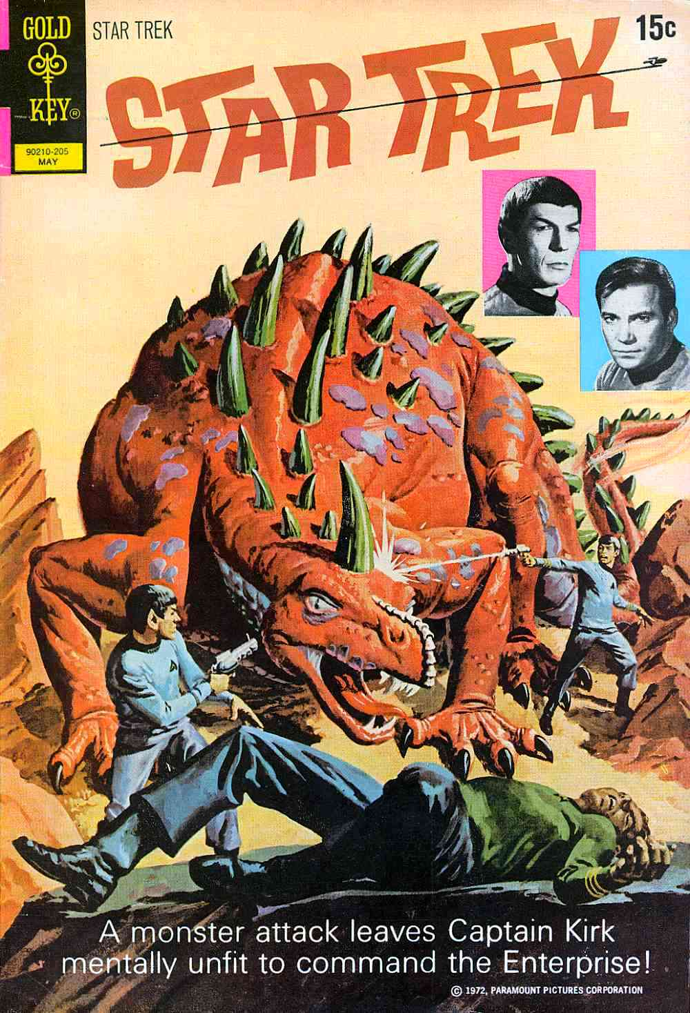 Star Trek (1967) issue 14 - Page 1