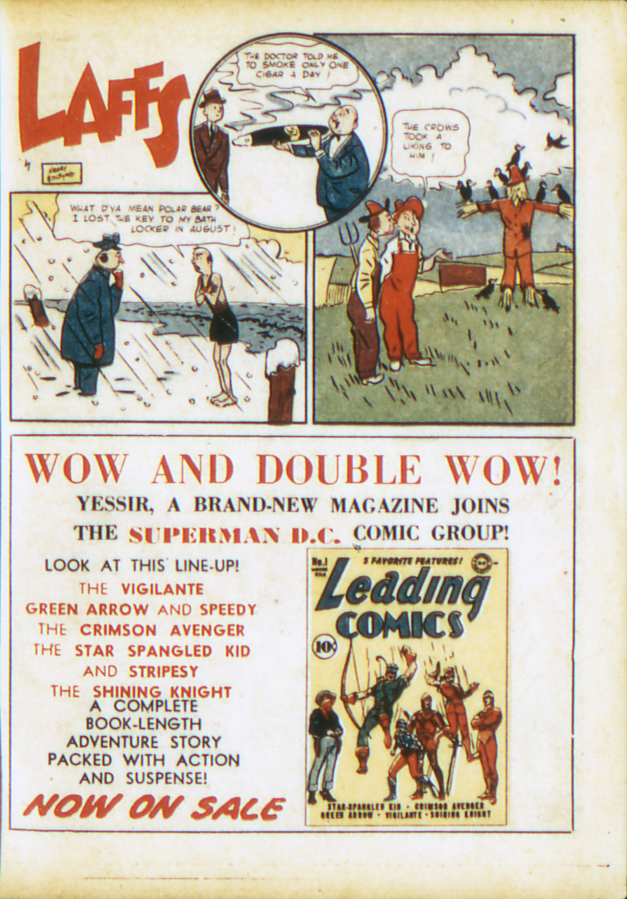 Read online Adventure Comics (1938) comic -  Issue #71 - 32