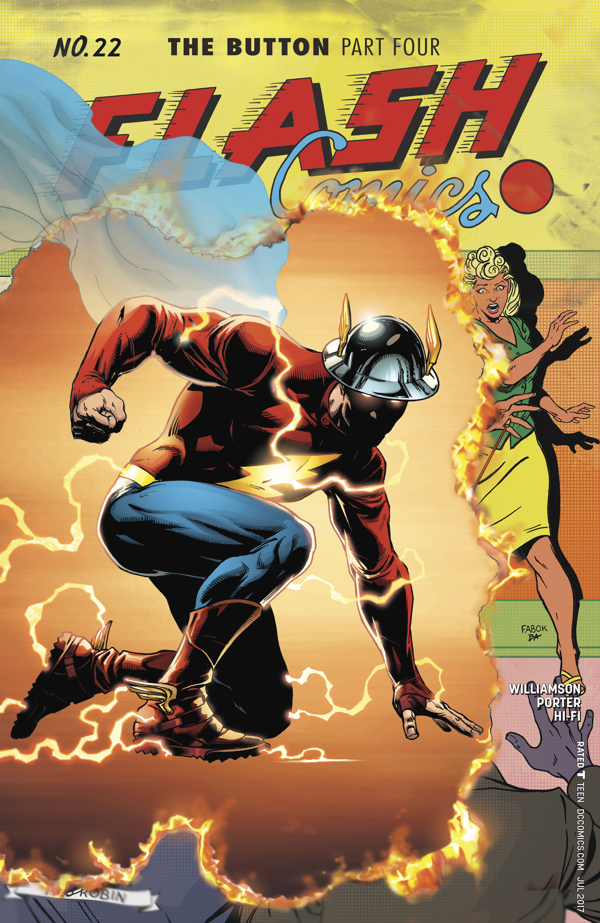 Read online The Flash (2016) comic -  Issue #22 - 1