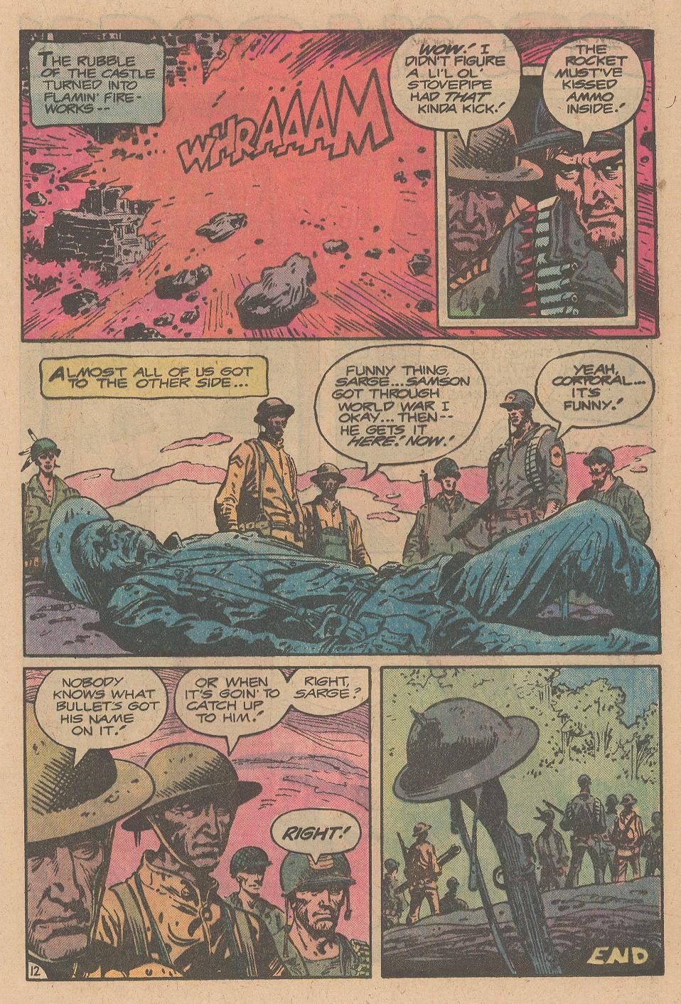 Read online Sgt. Rock comic -  Issue #355 - 13