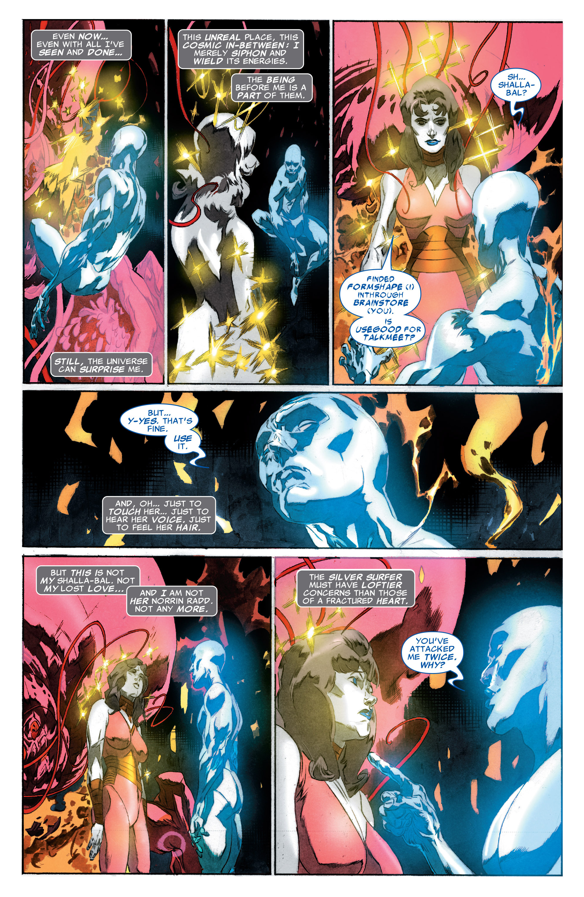 Read online Silver Surfer: In Thy Name comic -  Issue #3 - 12