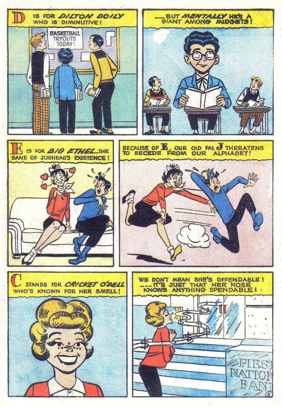 Read online Archie (1960) comic -  Issue #139 - 7